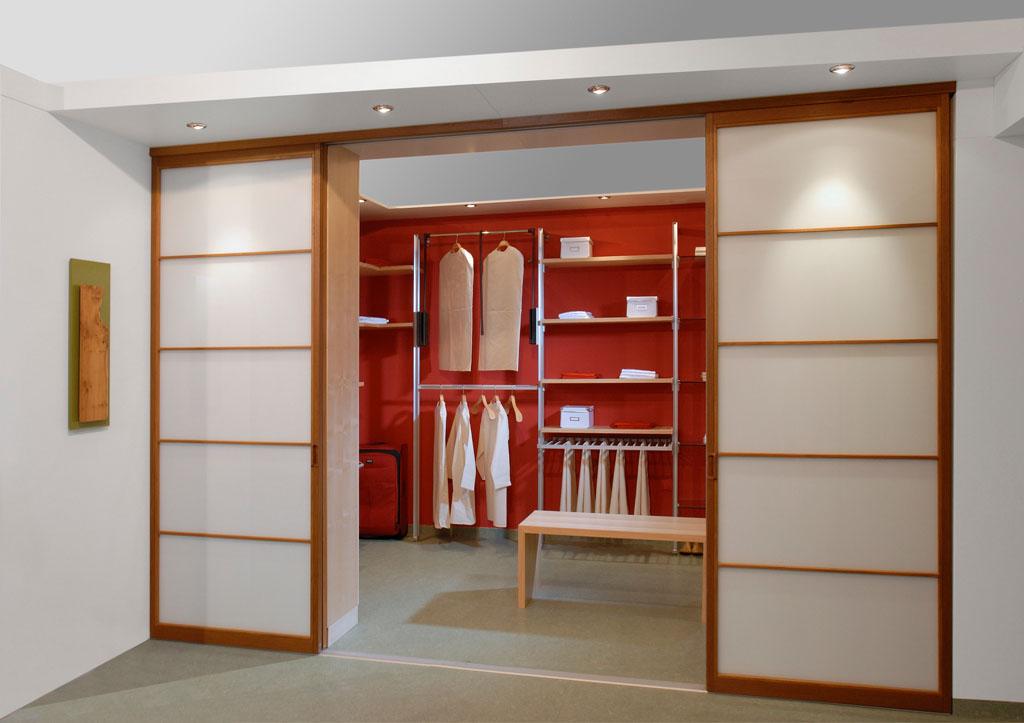 Begehbare Kleiderschranke Eichenhaus Gleitturen Schranke Raumteiler